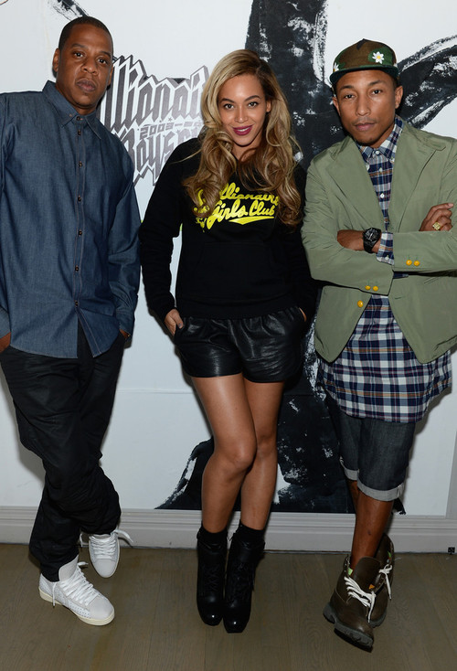 Beyonce x Jay-Z x Pharrell Williams